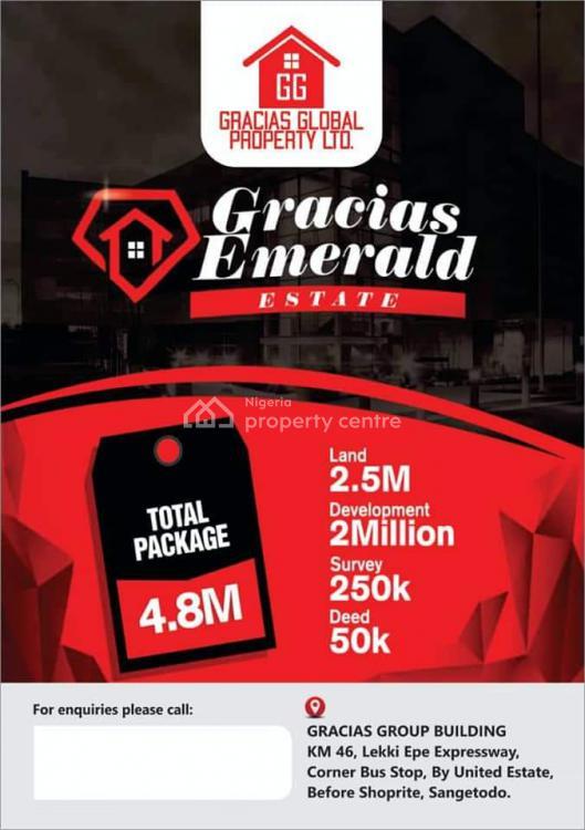 Land, Gracias Emerald Estate,gra, Abijo, Lekki, Lagos, Mixed-use Land for Sale