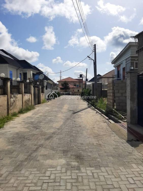 473sqm of Land with Carcass Building, Peninsula Garden Estate, Sangotedo, Ajah, Lagos, Land for Sale
