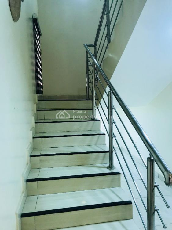 Luxury Furnished 3 Bedroom, a Gym Room and a Bq, Diplomatic Drive, Katampe Extension, Katampe, Abuja, Terraced Duplex for Rent