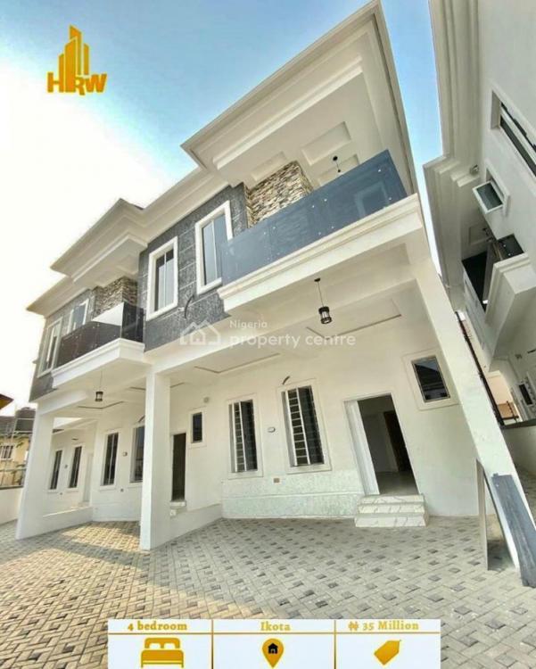 Lovely 4bedroom Terrace Duplex, Ikota Villa Estate, Ikota, Lekki, Lagos, Terraced Duplex for Rent