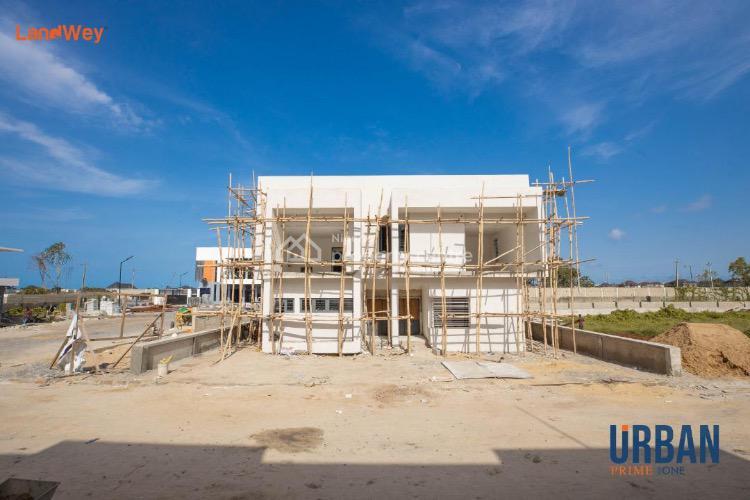 Four Bedroom Semi Detached Duplex + 1 Bedroom Bq  with Governor Consent, Abraham Adesany, Lavadia [urban Prime Two Estate], Ajah, Lagos, Semi-detached Duplex for Sale