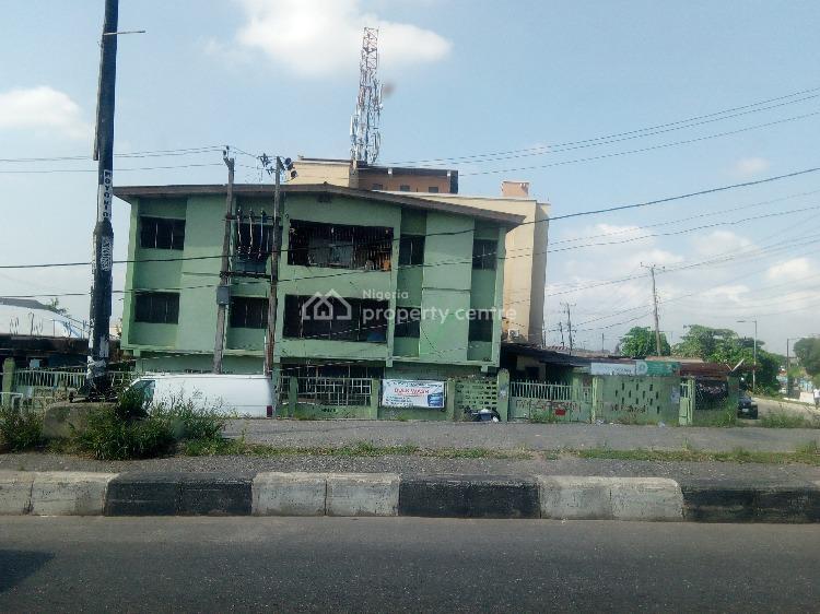 Corner Piece Block of 10 Flats with 10 Shops, Agboyi Road, Ogudu, Lagos, Block of Flats for Sale