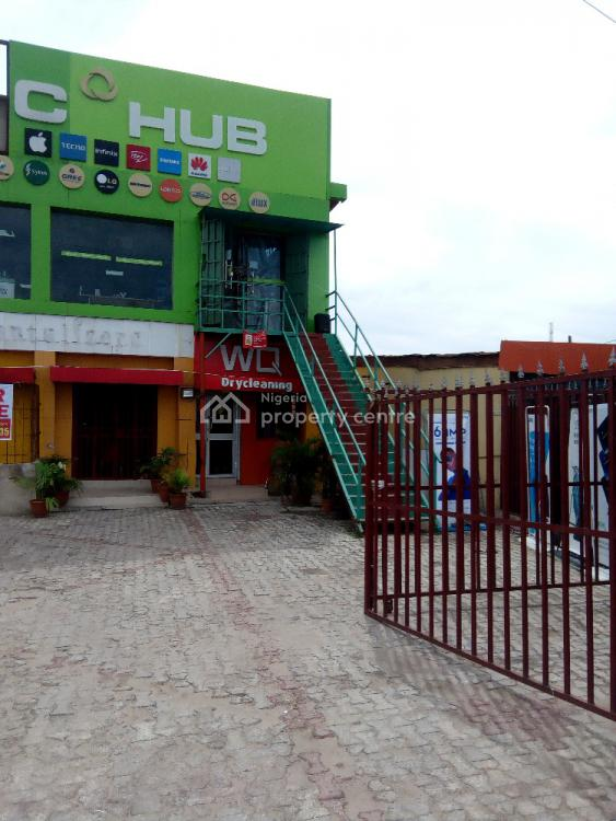 Commercial Building, a Fast Food Outlet on 630m2, Strategically Sited, Diya Street, Gbagada, Lagos, Office Space for Sale