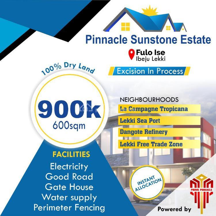 Land, Pinnacle Sunstone Estate, Ibeju Lekki, Lagos, Land for Sale