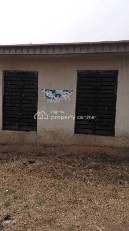 Affordable 2 Bedrooms Bungalow with 2 Shops., Ado-odo/ota, Ogun, Detached Bungalow for Sale