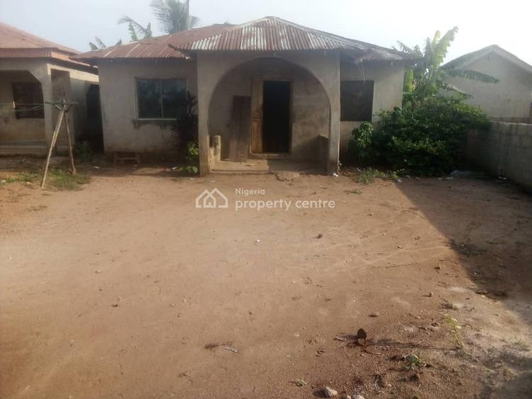 Two Bedroom Apartment, Agunfoye Area, Igbogbo, Ikorodu, Lagos, Detached Bungalow for Sale