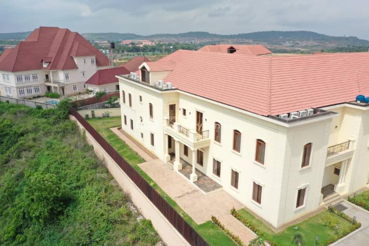 4 Bedroom Hilltop Mansion Duplex at Sunrise Hills Estate, Sunrise Hills Estate, Guzape District, Abuja, Detached Duplex for Sale