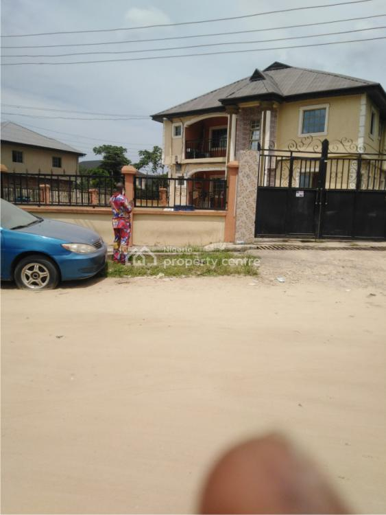 a Standard 4 Units 3 Bedrooms Flat, Oremeru Street, Faniyi Estate, Ebute, Ikorodu, Lagos, Block of Flats for Sale