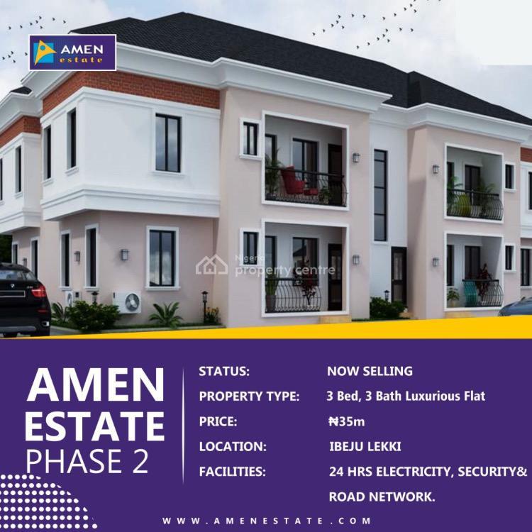 Block of Flats, Amen Estate, Akodo Ise, Ibeju Lekki, Lagos, Block of Flats for Sale