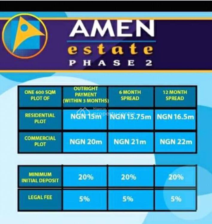 Amen Estate, Akodo Ise, Ibeju Lekki, Lagos, Mixed-use Land for Sale