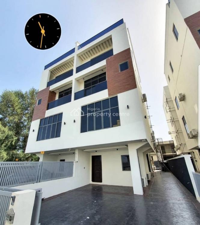 Lagoon View Luxury 5 Bedroom Home with Bq, Banana Island, Ikoyi, Lagos, Semi-detached Duplex for Sale