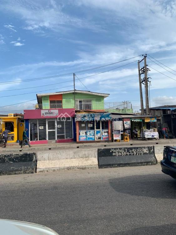 Block of Flat, Corner Piece, Yaya Ibatan Street, Ogba, Ikeja, Lagos, Block of Flats for Sale