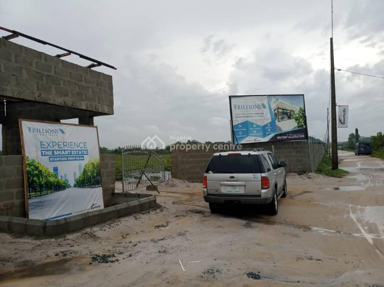 Buy and Build Land Trillion Park Estate, Trillion Park Estate Alatise, Bogije, Ibeju Lekki, Lagos, Residential Land for Sale