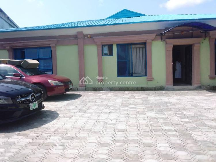 Large Bungalow with 5 Nos Self Contained, 5 Nos 1 Bedroom Flats., Safe Way Hospital Bustop,  Eti-osa., Sangotedo, Ajah, Lagos, Block of Flats for Sale