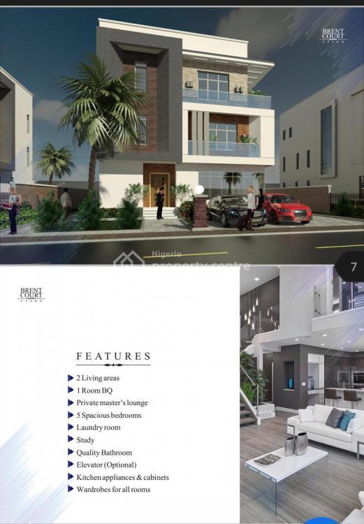 5-bedroom Fully-detached Luxury Home, Brent Court, Utako District,  7mins Drive From Jabi Lake Mall,, Utako, Abuja, House for Sale
