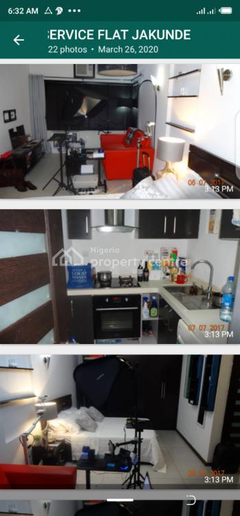 Studio Apartment, Shoprite Road, Jakunde, Osapa, Lekki, Lagos, Flat for Rent