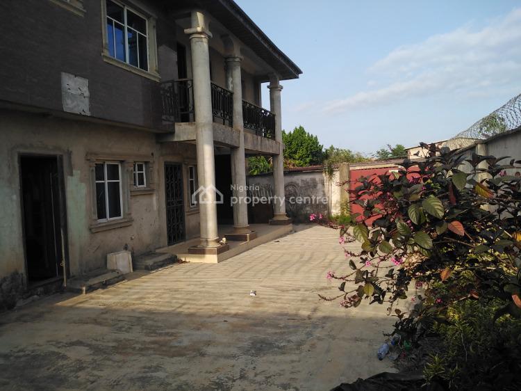 Newly Built Six Bedroom Duplex, Oyo Alafin Off Alimosho General Hospital., Igando, Ikotun, Lagos, Detached Duplex for Sale