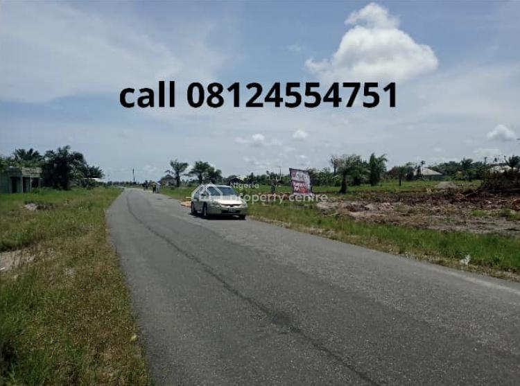 100% Dry Land on a Tarred Road, 3 Minutes From La Campagne Tropican, Ibeju Lekki, Lagos, Residential Land for Sale