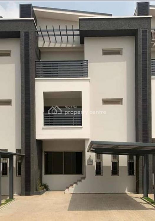 Well Finished 4bedroom Terrace Duplex with Bq, Jabi, Jabi, Abuja, Terraced Duplex for Sale