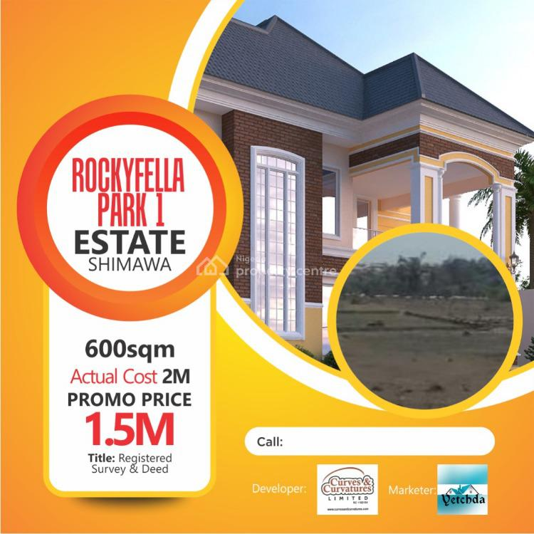 Luxury Plots of Land with Excellent Amenities, Rockyfella Estate, Simawa, Ogun, Residential Land for Sale