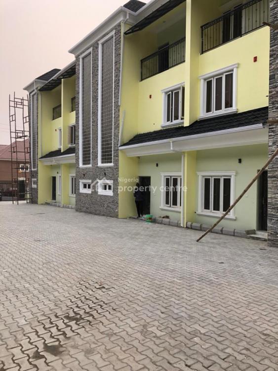 Luxuriously Built 4bedroom Terrace with Bq., Behind Stella Maris School, Life Camp, Gwarinpa, Abuja, Terraced Duplex for Sale