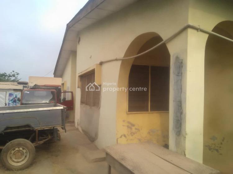 Strategic Bungalow on a Tarred Road in a Good Area, Akala Estate Off Akobo Ojurin Road, Akobo, Ibadan, Oyo, Detached Bungalow for Sale