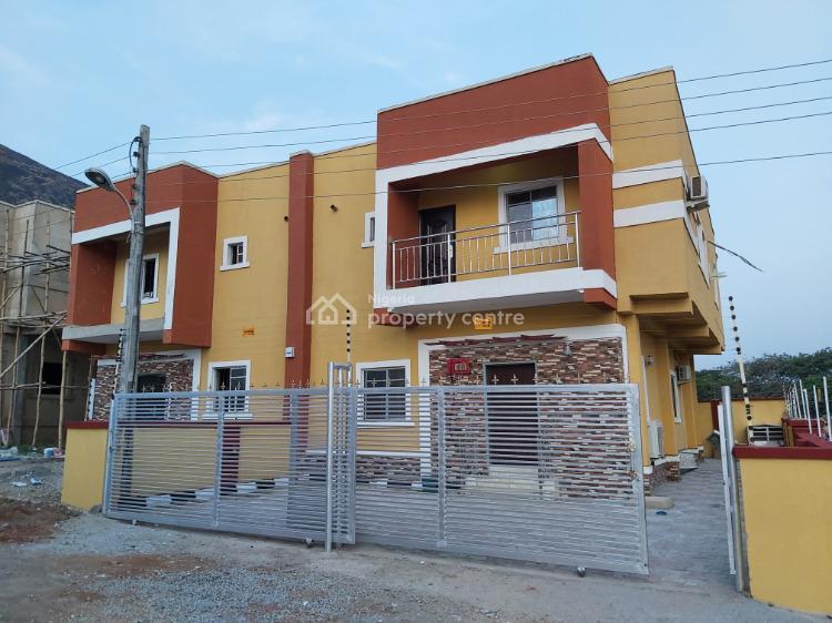 Fine & Well Finished 4 Bedroom Semi-detached Duplex, Lennar Hillside Estate, Beside Brick City Estate, Kubwa, Abuja, Semi-detached Duplex for Sale