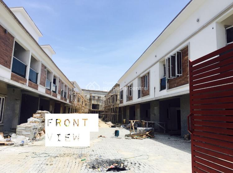 Newly Built 3bedroom Terrace Duplex with 95 Percent Completed, Orchid Road, Lekki Phase 2, Lekki, Lagos, Terraced Duplex for Sale