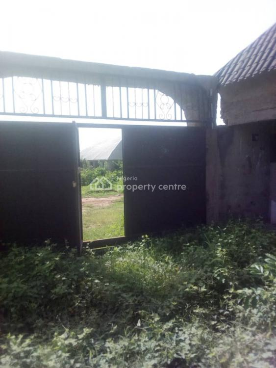 Nicely Built Uncompleted 6 Bedroom Bungalow with a Pent House, Ids Street, Eleekara Near Fed. College of Education, Oyo Town., Atiba, Oyo, Detached Bungalow for Sale