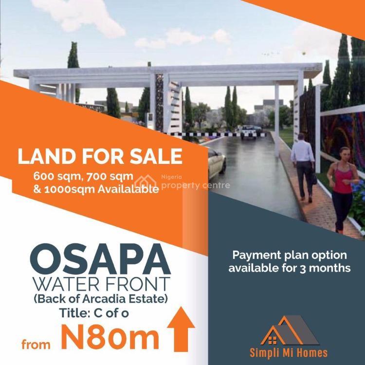 1000sqms Land, Osapa London, Behind Acadia Estate, Osapa, Lekki, Lagos, Residential Land for Sale
