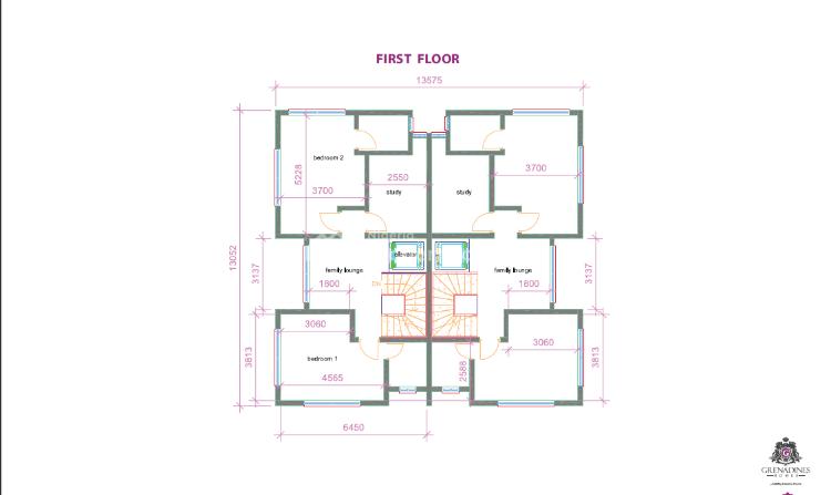 Grenadines 4 Bedroom Luxury Semi-detached (off Plan), Lugard Avenue, Old Ikoyi, Ikoyi, Lagos, Semi-detached Duplex for Sale