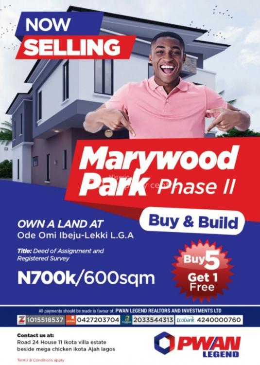 Full Plot of Land, Ibeju Lekki, Lagos, Mixed-use Land for Sale