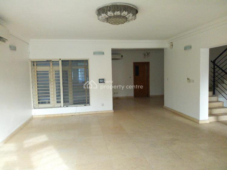 Serviced 4 Bedroom Terrace with a Maids Room, Off Bourdillon Road, Old Ikoyi, Ikoyi, Lagos, Terraced Duplex for Rent