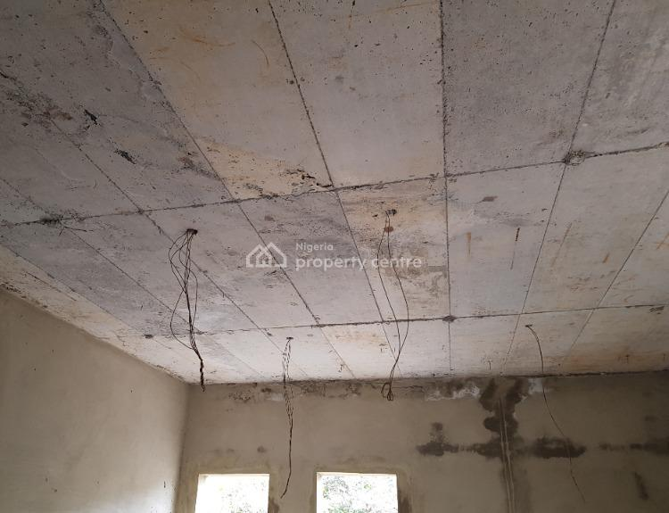 Twin 6 Bedroom Uncompleted Building, Close to Asokoro, Guzape District, Abuja, Semi-detached Duplex for Sale