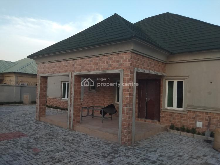 4 Bedroom Bungalow with 1 and 2 Bedroom Bq, Galadimawa, Abuja, House for Sale