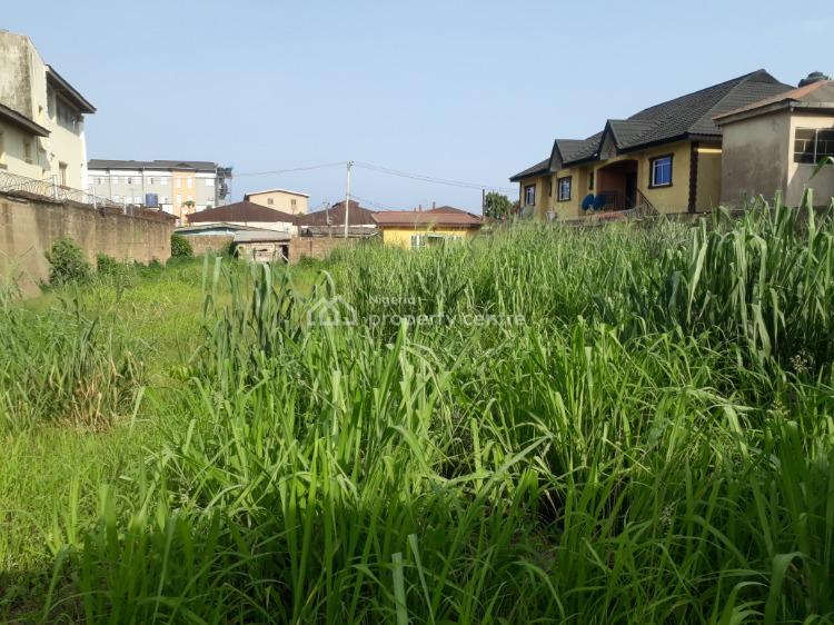 an Ideal Residential Land Measuring 503sqm Fenced, Akerele & Mosis Emeya Streets, New Oko-oba, Agege, Lagos, Residential Land for Sale