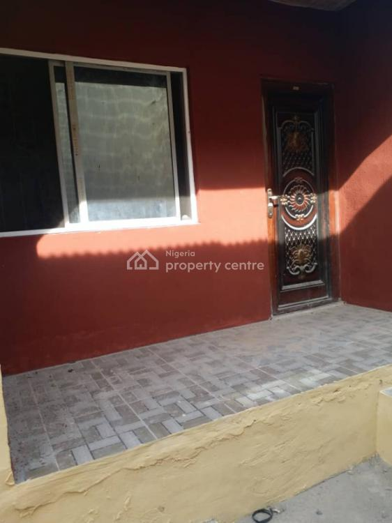 Room and Parlour Self Contained, Eleha Muibi Street, Igbogbo, Ikorodu, Lagos, Mini Flat for Rent