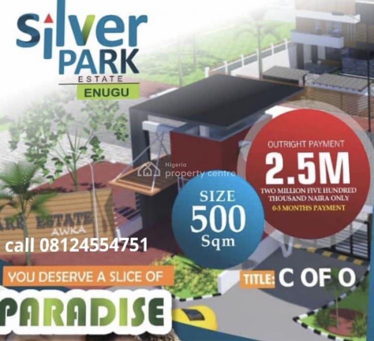 Estate Land with C of O, Emene, Enugu, Enugu, Residential Land for Sale