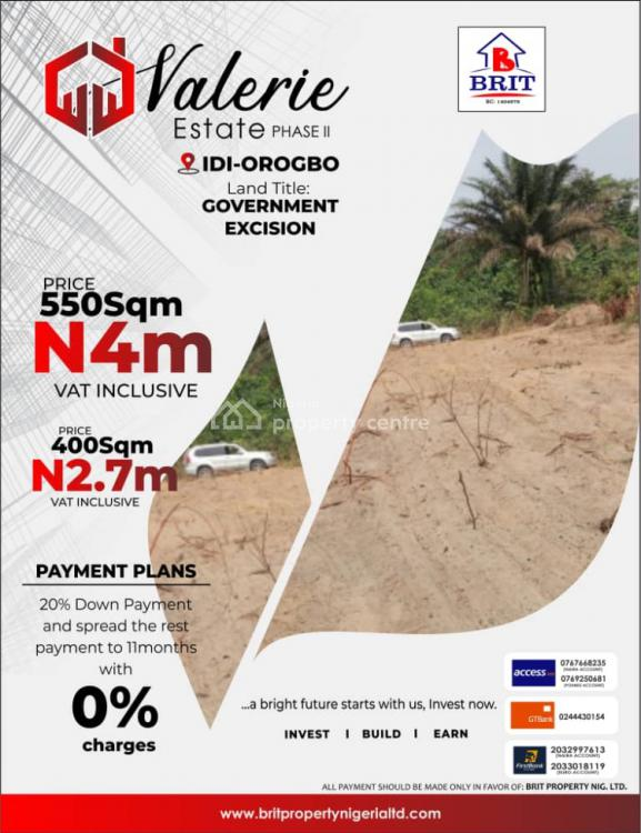 Valerie Estate Phase2, Idi-orpgbo, Eleko, Ibeju Lekki, Lagos, Residential Land for Sale