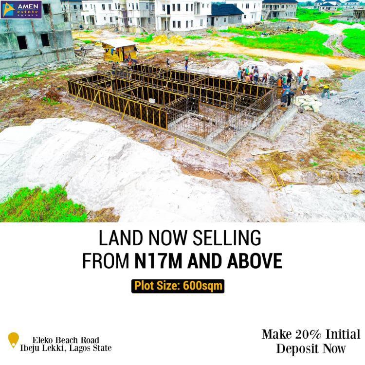 C of O, Eleko Beach Road, Eleko, Ibeju Lekki, Lagos, Mixed-use Land for Sale