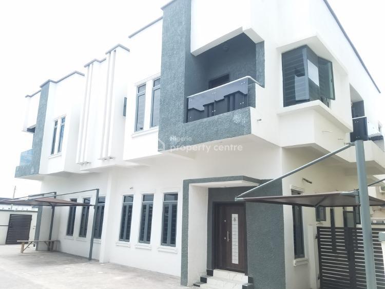 Newly Built 4 Bedroom Semi Detached Duplex, Lafiaji Road,, Lafiaji, Lekki, Lagos, Semi-detached Duplex for Sale
