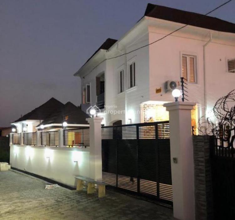 Newly Built 5 Bedroom Duplex with 2 Bedroom Bq, Eleko, Ibeju Lekki, Lagos, Detached Duplex for Sale