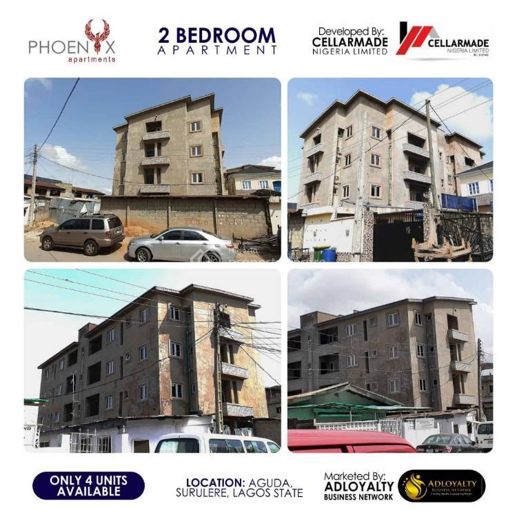 Luxury Built 2 Bedroom Apartment with Quality Finishing., 34, Bolaji Banwo Street, Phoenix Apartments, Aguda, Surulere, Lagos, Block of Flats for Sale