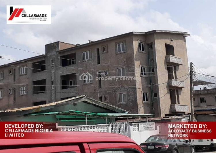 Newly Built Apartments with Bq, Fully Finished and Serviced, 34, Bolaji Banwo Street, Phoenix Apartments, Aguda, Surulere, Lagos, Block of Flats for Sale