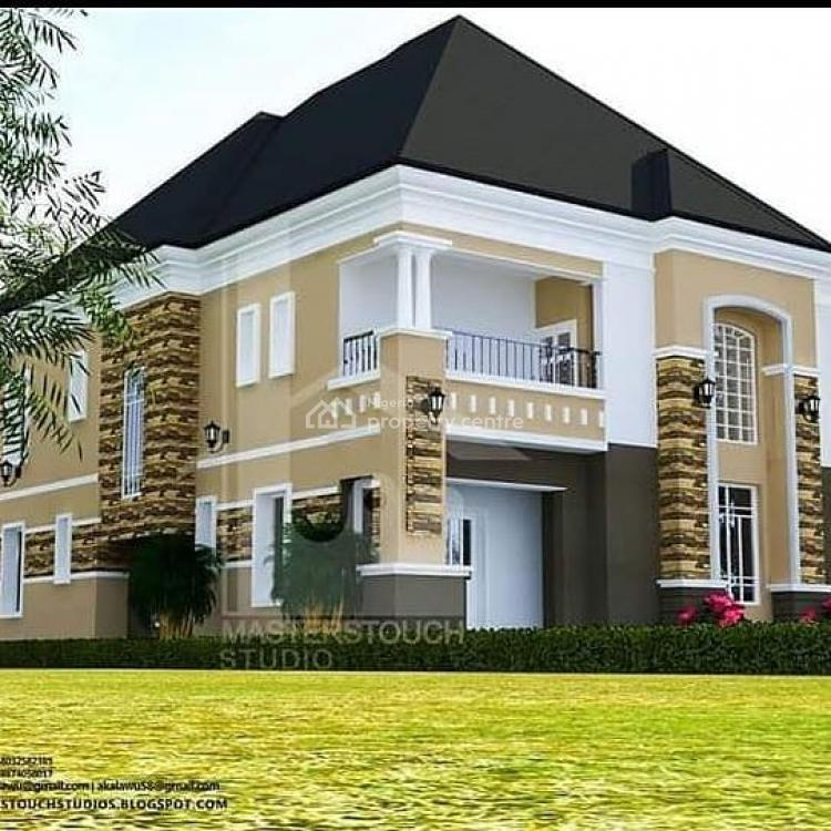 Land for a Spacious & Luxurious 5 Bedroom Duplex with Space for a Bq, Airport Road, Lugbe District, Abuja, Residential Land for Sale