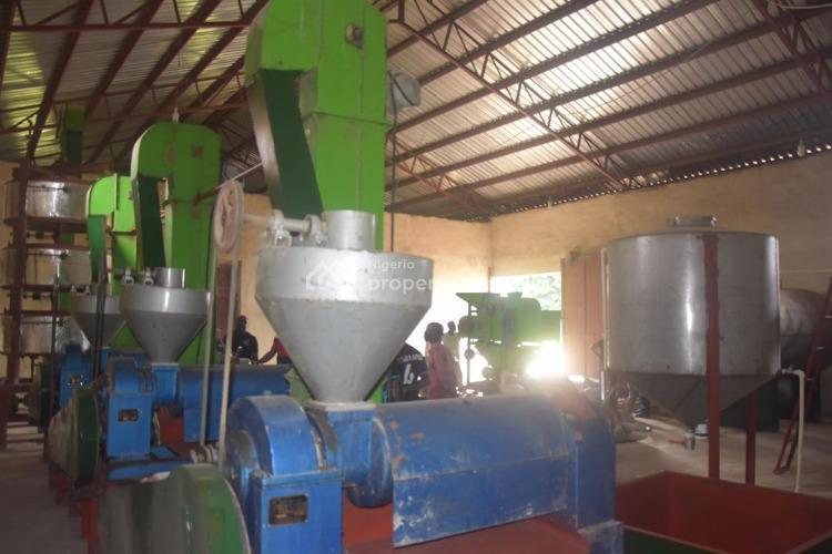 Oil Milling Factory, Kilometer 3, Keffi-nasarawa Road, Pyanku Keffi, Keffi, Nasarawa, Factory for Sale