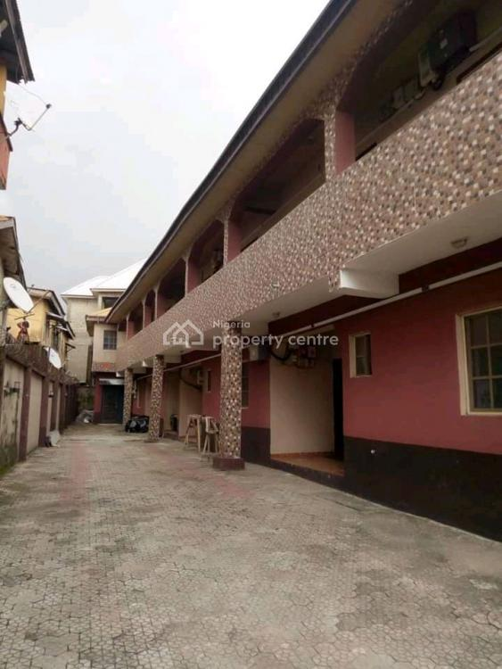 a 2 Bedroom Apartment, Interlocking Compound. with Personal Meter, Jabita Road Owode, Ajah, Lagos, Flat for Rent