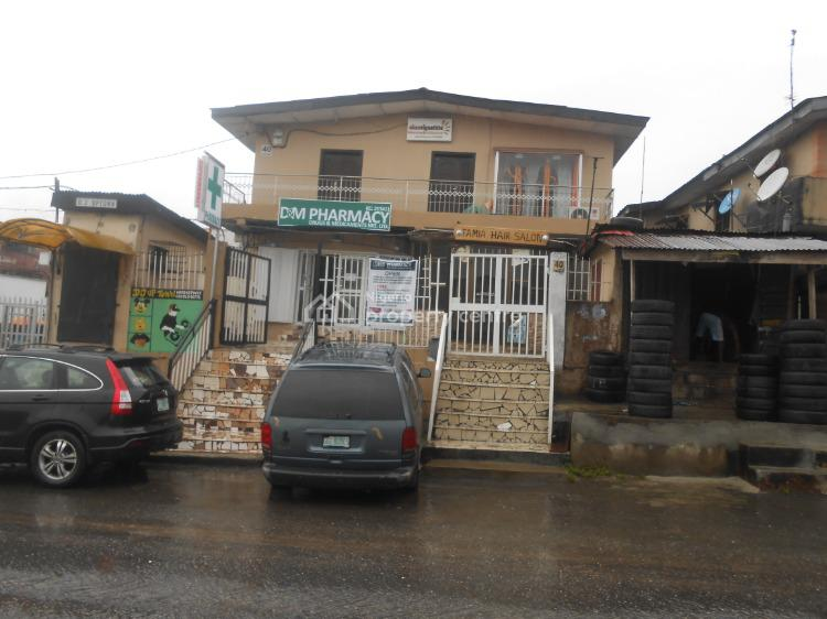 a Commercial Building  Consists 3bedroom,2big Office Spaces, 40,ogudu Road., Ojota, Lagos, Plaza / Complex / Mall for Sale