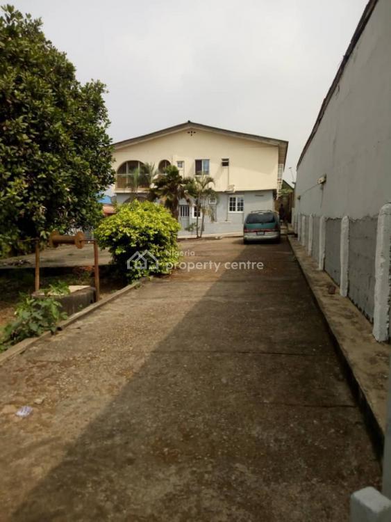 2 Blocks of 3&4 Spacious Flat on a Plot, Eyita Benson Sabo Ikorodu, Apeka, Ikorodu, Lagos, Block of Flats for Sale
