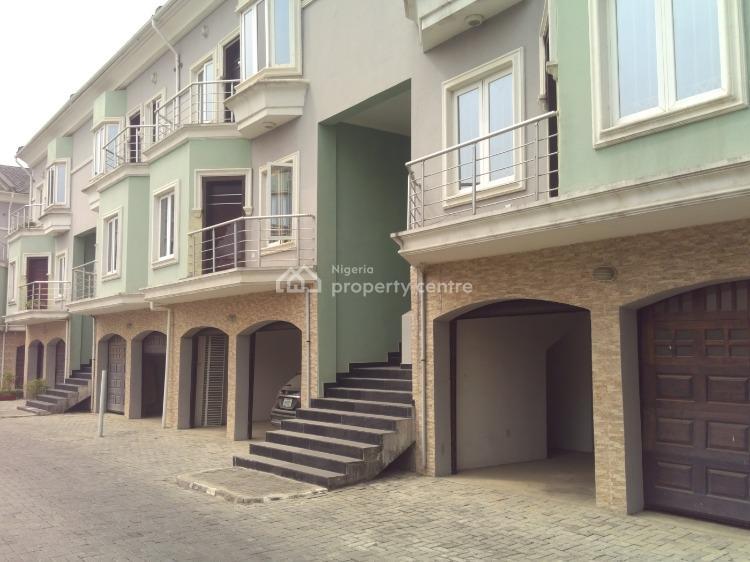 4 Bedroom Terrace, Midland Court, Off Chevron Drive (beside Northern Foreshore), Lekki, Lagos, Terraced Duplex for Sale